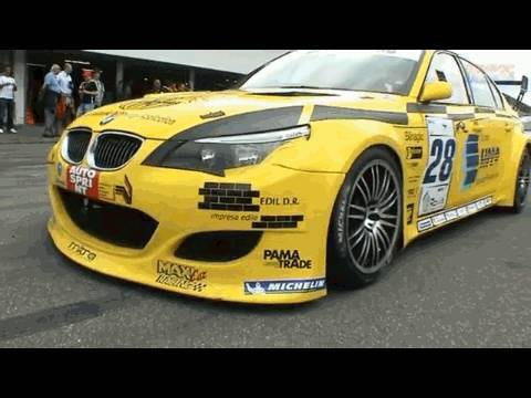 SUPERSTARS SERIES Hockenheim V8 Touring Cars - BMW M3 E92 - Audi RS4 - CHRYSLER 300C SRT8