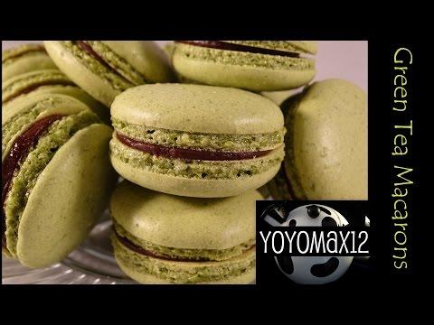 Green Tea Macarons and Champagne Buttercream Macarons- Zöld teás macaron és pezsgös vajas macaron re