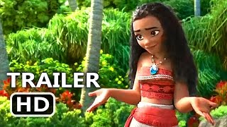 MOANA Blu Ray TRAILER (2017) Disney Animated Movie HD