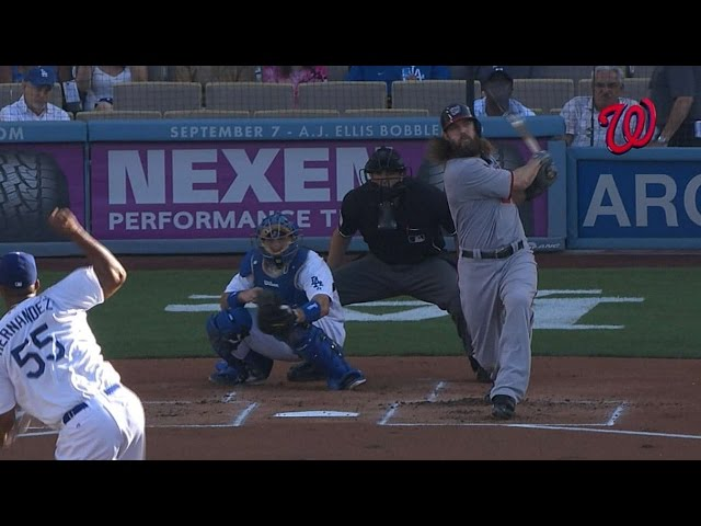 WSH@LAD: Nats hit four homers in win over Dodgers
