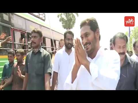 YS Jagan Padayatra | YSRCP Praja Sankalpa Yatra | AP Politics | YOYO TV Channel