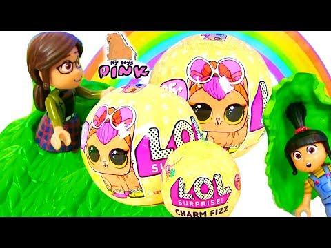 LOL Surprise Pets ЕДИНОРОГ! ГДЕ ОН?!! ЛОЛ Сюрпризы #ПИТОМЦЫ Blind Bags | My Toys Pink Video