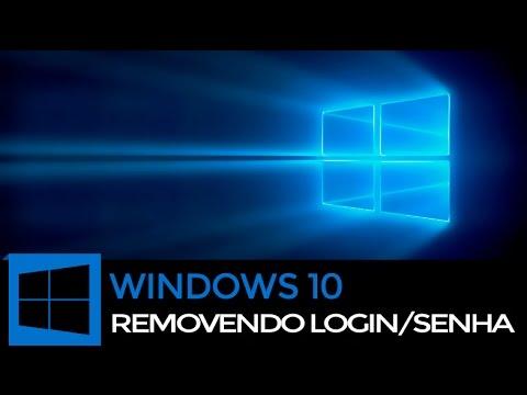 Como Remover Login e Senha no Windows 10
