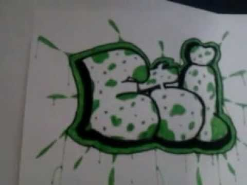 стили граффити: