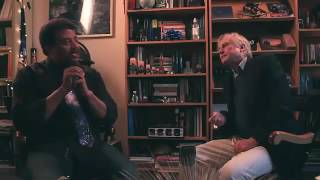 Neil Degrasse Tyson in discussion with Richard Dawkins