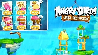 Angry Birds Under Pigstruction - Let's Play #1: First 20 Mins & In-App Purchase Analysis