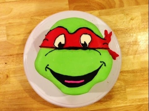 How To Make A Turtle Cake Out Of Cupcakes