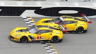 Thrilling IMSA Finishes