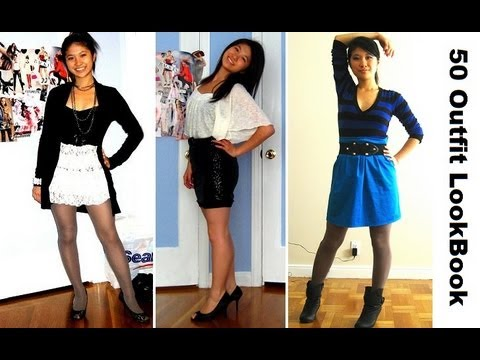 Fashion Lookbook: 50 Styled Outfits in 5 Minutes