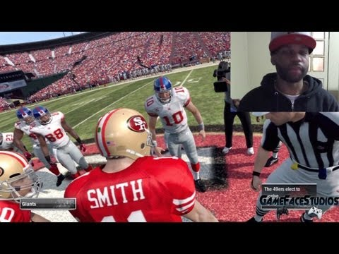 Madden 12: Watch Me Play Madden Live - 49ers VS. Giants Feat. xChaseMoney