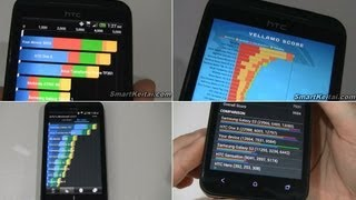 Sprint HTC EVO 4G LTE Benchmark Tests (Snapdragon S4)