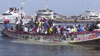 Senegalese migrants vow to sail to Europe again