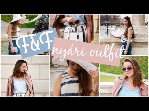 F&F nyári outfitek | Joy x F&F Bloggerverseny | Lina és Panni