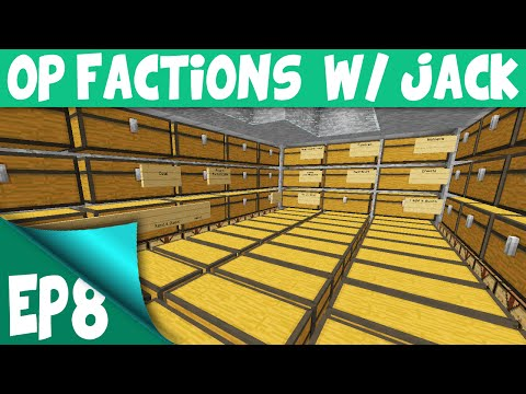 Minecraft OP Factions Server EP8 w Jack BEST FACTION BASE EVER Minecraft OP Factions Lets Play