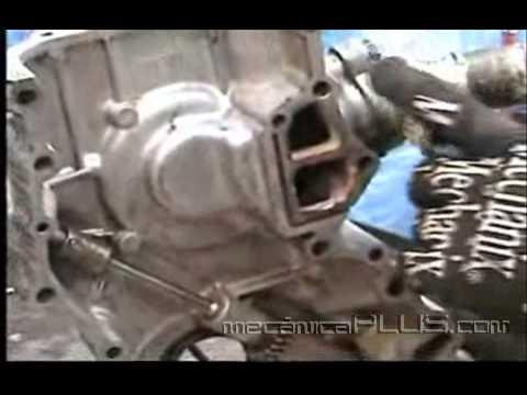 Motor Nissan Parte Cambiando Bomba