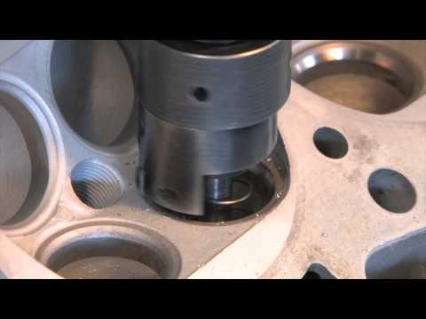 Cylinder Head 201 - Radius Cut Valve Job