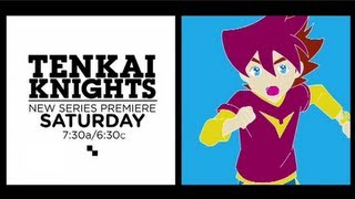 "Cartoon Network USA: ""Tenkai Knights"" [Promo - New Series Premiere]"