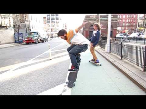 Bustin Longboards NYC - Kiefer Dixon 2nd ska8 vid re-edit