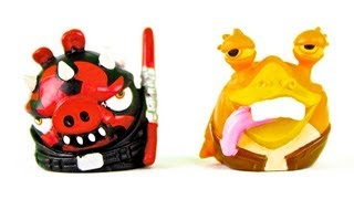 Darth Maul Pig, Jar Jar Binks Bird and More Angry Birds Star Wars Telepods!
