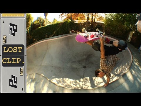 Lance Mountain Lost & Found Skateboarding Clip #82