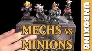 MECHS VS. MINIONS UNBOXING