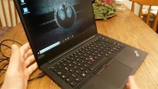 Lenovo ThinkPad E480 einrichten und erster Eindruck