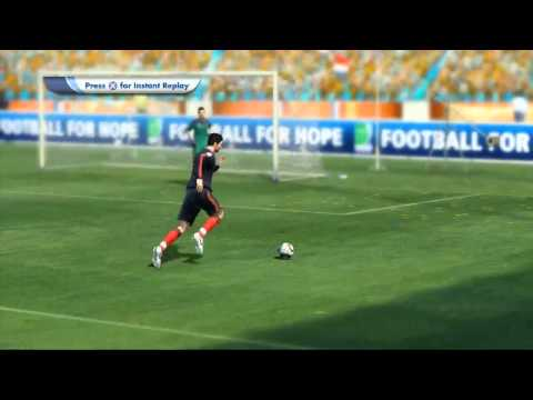 Netherlands vs. Spain World Cup Match (SImulated using FIFA World Cup 2010 South Africa)