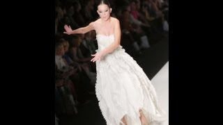 Model almost falls several times during Kai Spring/Summer 2013 fashion show