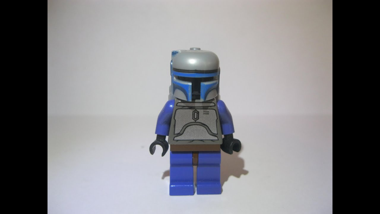 Lego Jango Fett Instructions Lego Jango Fett