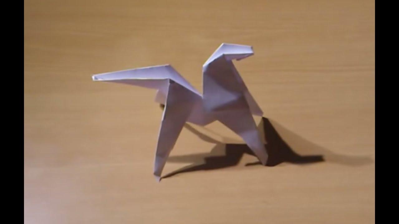 Faire un cheval en origami fabriquer un cheval complet en papier youtube - Comment faire des origamie ...