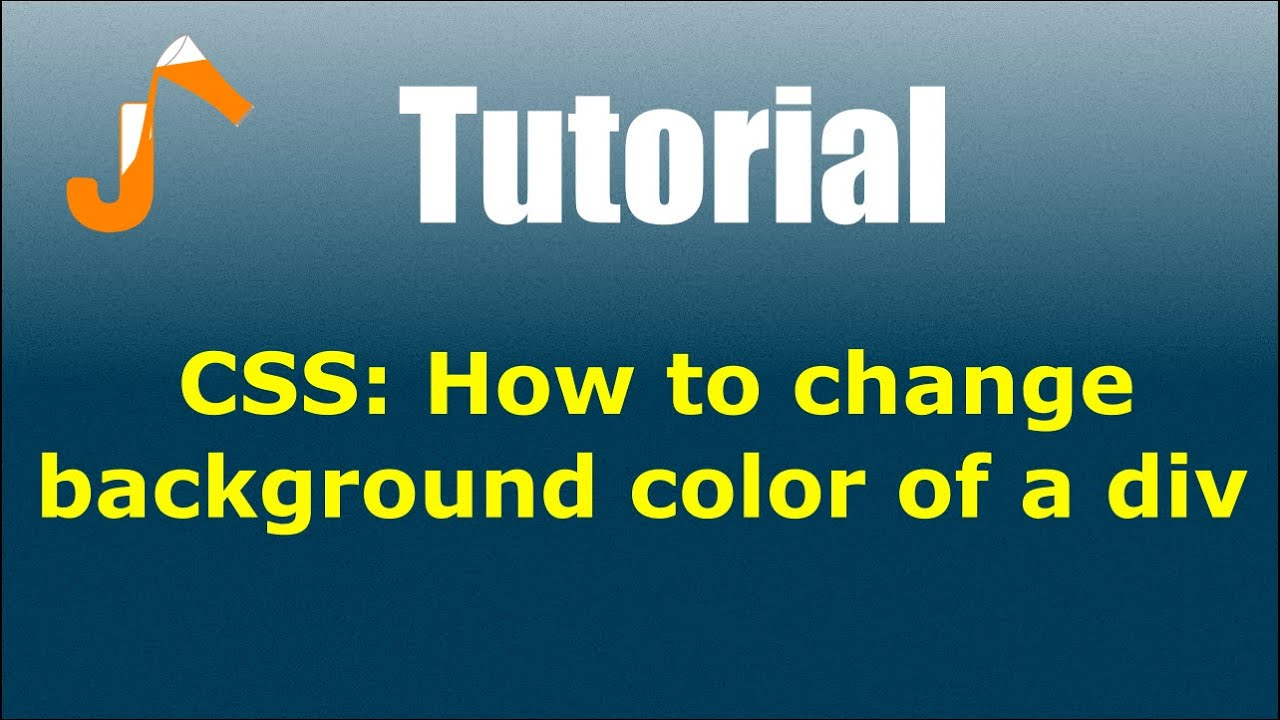 Css how to change background color of a div youtube - Div background color ...