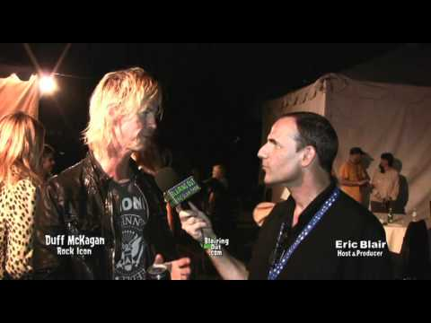 GnR's Duff McKagan talks with Eric Blair about Johnny Ramone&Justin Bieber