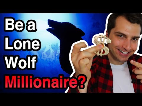 Can You Be a Lone Wolf Online Millionaire (Or Do You Need a Business Partner)?