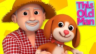 This Old Man | Nursery Rhymes For Kids | Baby Songs For Children By Luke & Lilly
