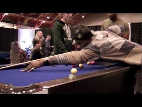 Stevie Mac lets you in to his world as a session musician on the road with Wretch 32 and his band mates. In this Blog Stevie is filming a pool match between ...