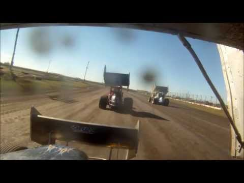 9-29-13 gopro sprint car feature race