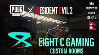 🔴CUSTOM ROOM!!!@ 7 RP GIVEAWAY @10K SUBS ...!!PUBG MOBILE NEPAL!!! CHICKEN DINNER WITH 8C