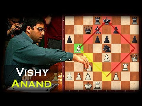 Anand's Most Outrageous Bishop Manoeuvre And Final Sacrifice