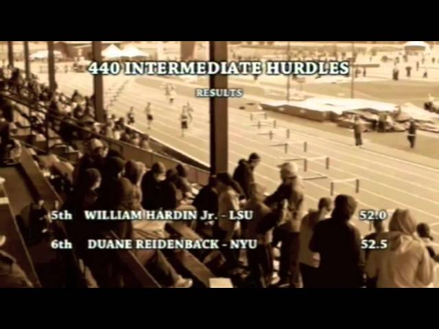They Were Tigers interview - Jerry Tarr talks victory in 1962 intermediate hurdles