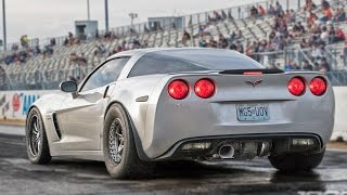 MASSIVE Rear Mounted TURBO Corvette!