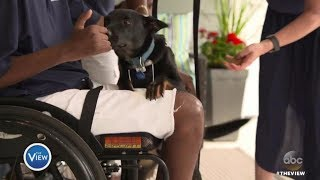 Timothy Birckhead Surprised With Emotional Support Dog