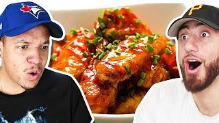 Who Can Cook The Best CHICKEN WINGS?! *TEAM ALBOE FOOD COOK OFF CHALLENGE*