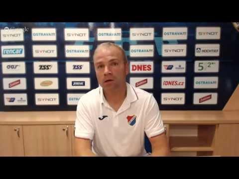 Tisková konference FC Baník Ostrava před utkáním s FK Mladá Boleslav
