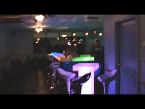 BarChefs - Asia Cafe Glowing LED sushi bar Installation.wmv