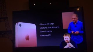 PRESENTATION iPhone 5Se  OMG WOW!