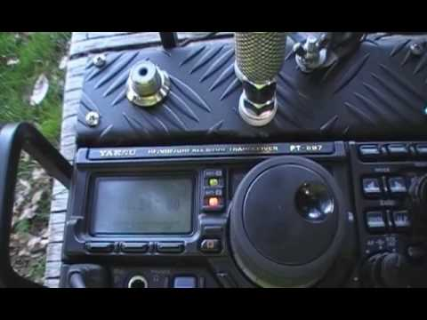 EC1CW/P: Switzerland (HB9BTI) on 12m with Yaesu FT-897D manpack