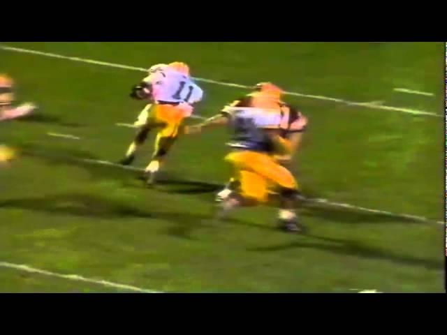 Oregon CB Muhammad Oliver blocks punt and returns it for TD vs. ASU 11-09-91