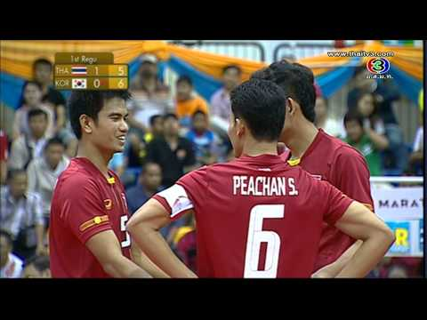 [tha-kor] 29th King's Cup Sepak Takraw Men's Team A video