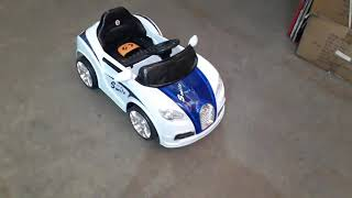 GetBest Ft 1188 Smiley Ride on Car with Double Battery and Double Motor