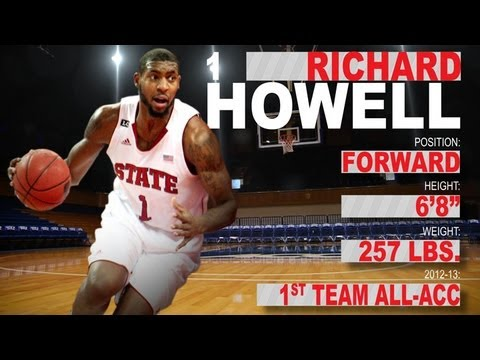 Richard Howell - NC State - Official Highlights - 2013 NBA Draft